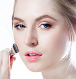 Makeup. Cosmetic. Base for Perfect Make-up Stock Photography