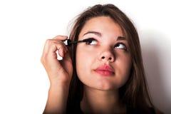 makeup cosmetic Grund för perfekt Make--up Royaltyfri Foto