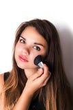 makeup cosmetic Grund för perfekt Make--up Royaltyfria Bilder