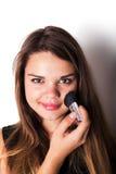 makeup cosmetic Grund för perfekt Make--up Fotografering för Bildbyråer