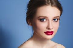 makeup cosmetic Palett för hudsignal Arkivfoton