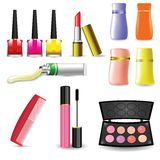 Makeup Cosmetic Product Royalty Free Stock Images