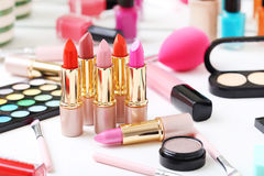 Makeup cosmetics Royalty Free Stock Images