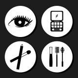 Makeup design Royalty Free Stock Photo