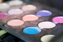Makeup Detail Colors Stock Photography