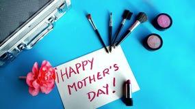 Makeup dla szczęśliwego matka dnia zdjęcie royalty free