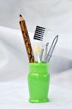Makeup equipment set Royalty Free Stock Photos