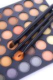 Makeup Eye Shadow Palette Royalty Free Stock Photography