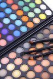 Makeup Eye Shadow Palette Stock Images