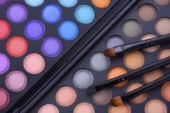 Makeup Eye Shadow Palette Royalty Free Stock Images