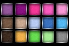Makeup Eye Shadow Palettes Stock Photo