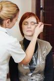 Makeup eye shadow Stock Images