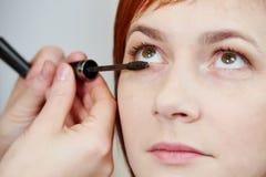 Makeup eye shadow Royalty Free Stock Photos