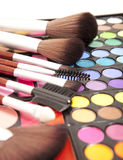 Makeup eye shadows Royalty Free Stock Photography