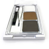 Makeup eyebrow powder colors isolate on white background Stock Photos