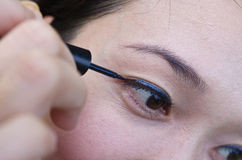 Makeup Eyes Royalty Free Stock Photography