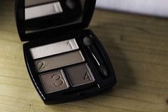 Makeup för ögonskugga Royaltyfri Foto