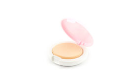 Makeup. Face powder Stock Photo