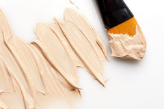 Makeup Foundation Royalty Free Stock Photography