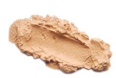 Makeup foundation sample Stock Photos