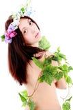 Makeup girl Stock Photos