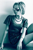Makeup girl Royalty Free Stock Photography