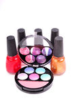 Makeup items Stock Image
