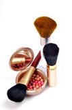 Makeup items Royalty Free Stock Photography