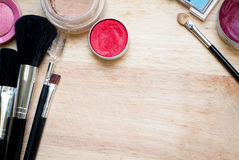 Makeup kit Royalty Free Stock Photos