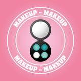 Makeup kit Royalty Free Stock Images