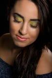makeup kolorowa kobieta Zdjęcie Stock