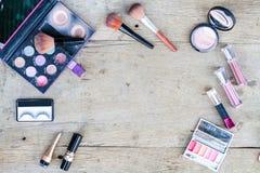 Makeup kosmetyki Zdjęcia Stock