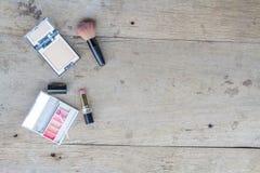 Makeup kosmetyki Obrazy Stock