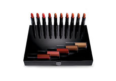 Makeup lipstick set product Stock Images