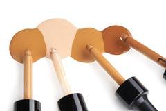 Makeup liquid foundation Royalty Free Stock Image