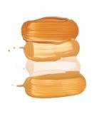 Makeup liquid foundation Stock Image