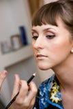 makeup ślub fotografia stock