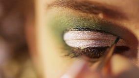Makeup Macros stock footage