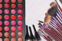 Makeup makeup tools created for women who love grooming clients Stock Image