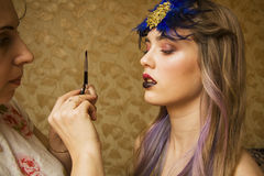 Makeup master Royalty Free Stock Photography