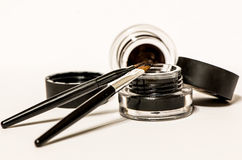 Makeup materials isolated Stock Photo
