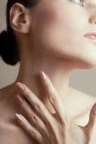 makeup miękka część Obrazy Royalty Free