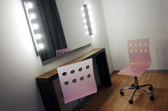 Makeup Mirror Stock Image