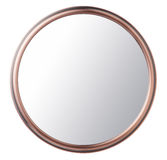 Makeup mirror. Vintage makeup mirror isolated on white background Royalty Free Stock Images