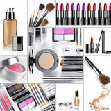 Makeup mix Royalty Free Stock Photography