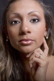 Makeup model Obrazy Royalty Free