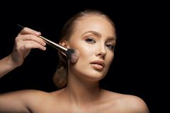 Makeup model Royalty Free Stock Images