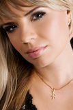 Makeup model face portrait Royalty Free Stock Photography