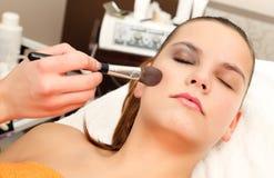 Makeup Moment Royalty Free Stock Photos