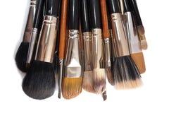 Makeup muśnięcia Zdjęcia Royalty Free